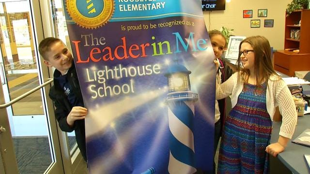 Pryor Elementary School Designated 'Lighthouse School'
