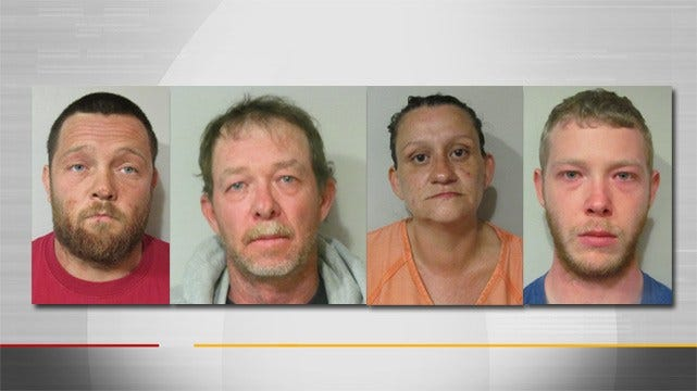 Four Arrested After Exploding Stove Kills 8-Year-Old Boy Near Muldrow