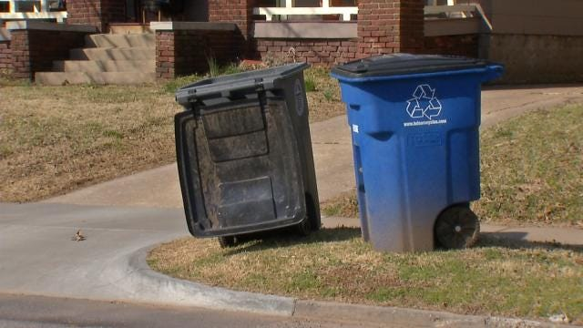 Tulsa Hopes To Increase Recycling By Downsizing Bins