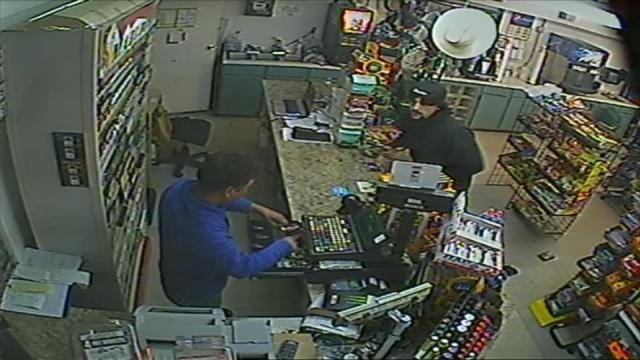 Jenks Police Release Surveillance Video Of Convenience Store Robbery