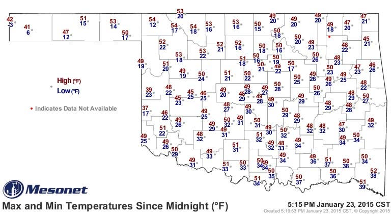Dick Faurot's Weather Blog: Warmer Into Next Week