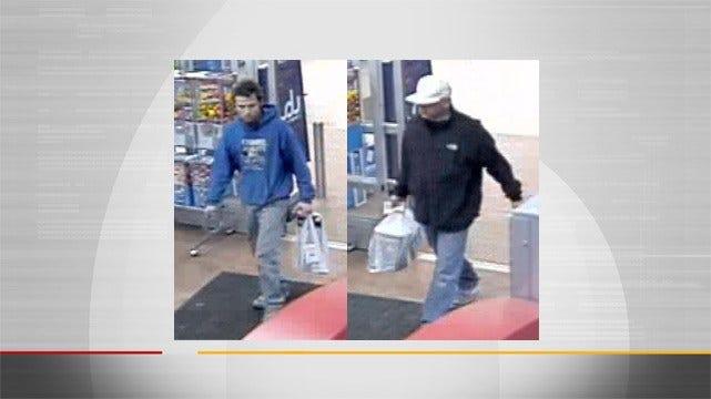 Wagoner County Sheriff's Office Seek Suspected Burglars