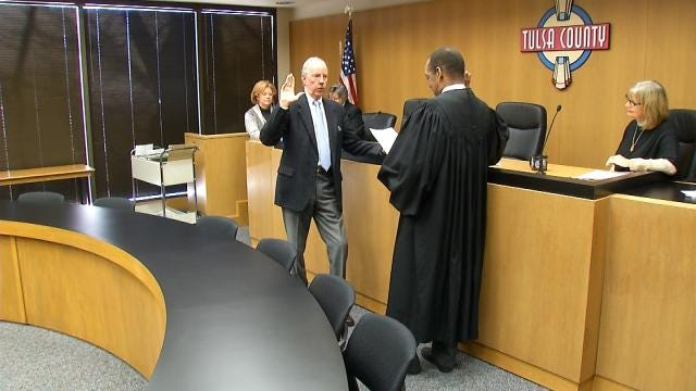 Tulsa County Officials Take Oath Of Office