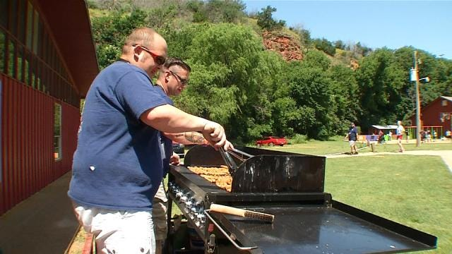 Green Country Firefighters Volunteer At Children's Burn Camp