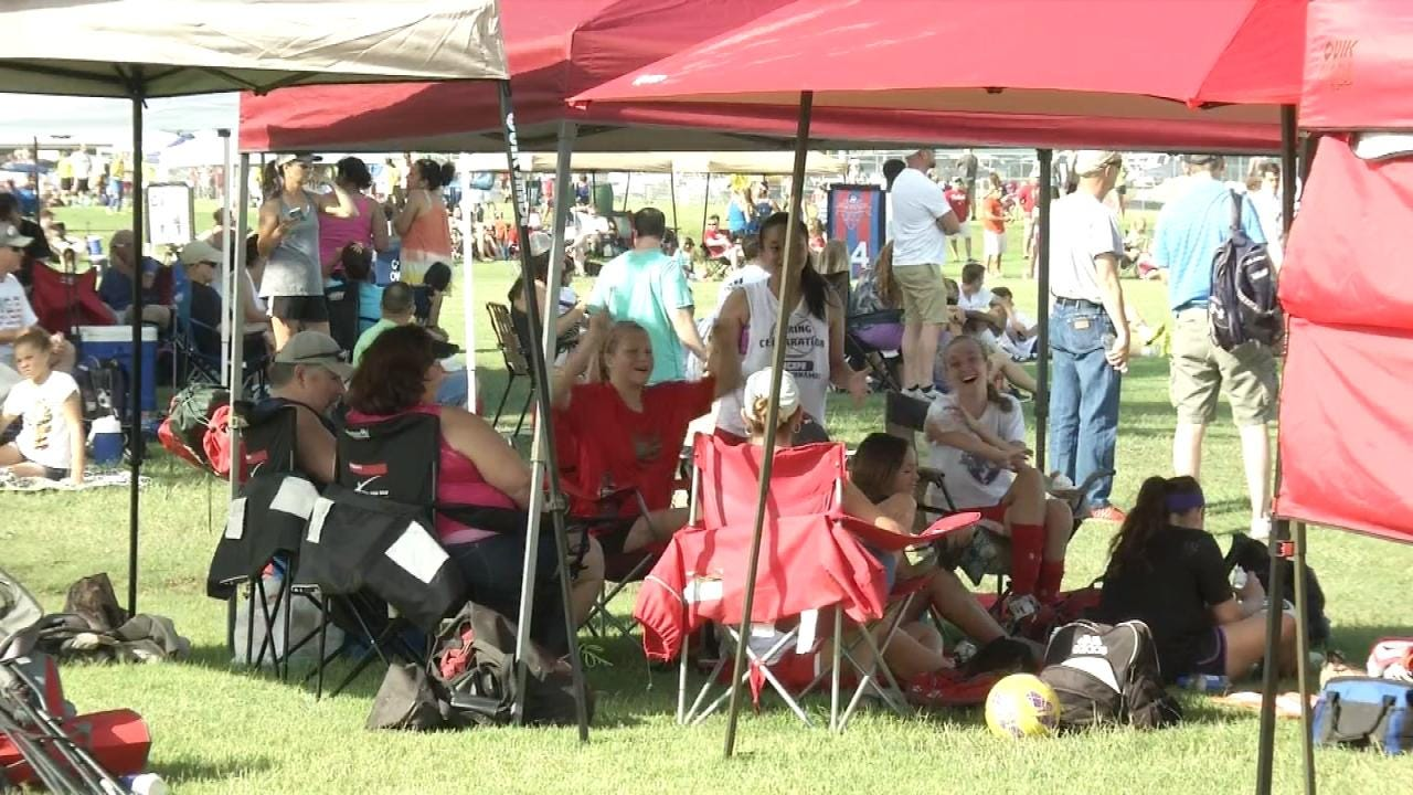Soccer Fans, Players Turn Out To Support Owasso Community Resources