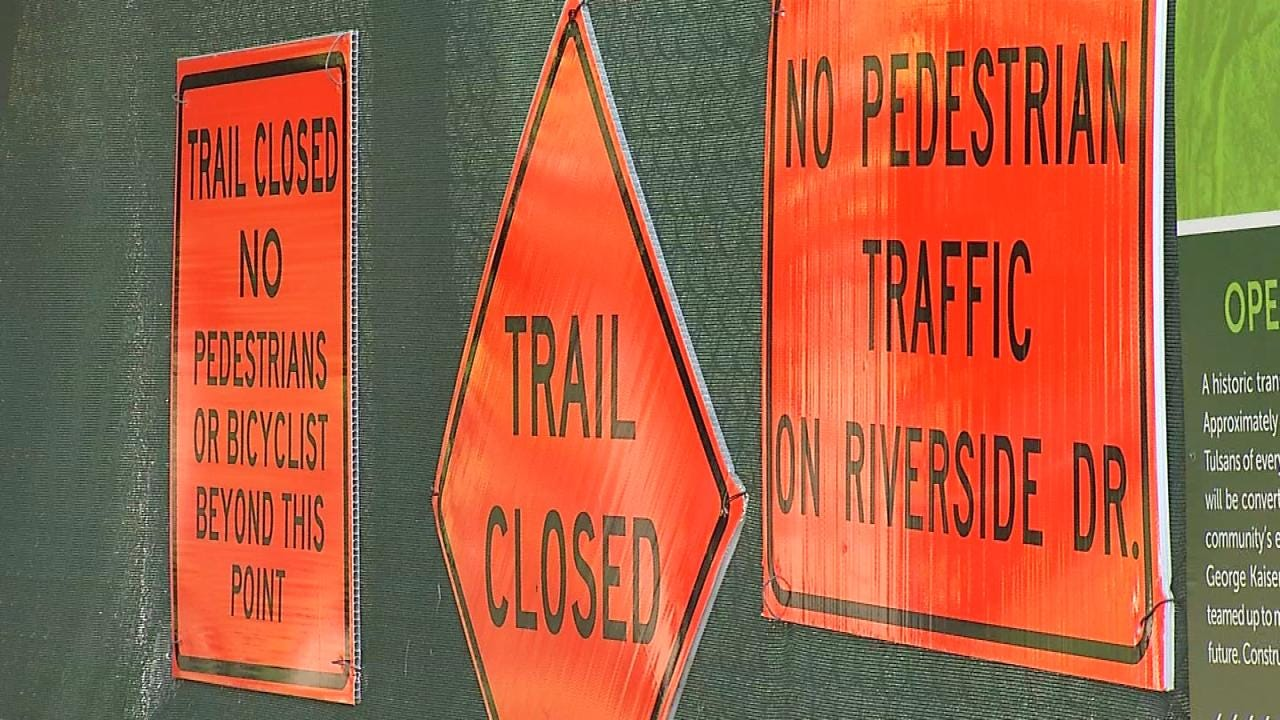 Stretch Of Tulsa's Riverside Drive Closes Until 2017
