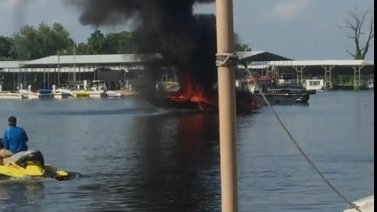 Grove Woman Recovering After 4th Of July Boat Explosion