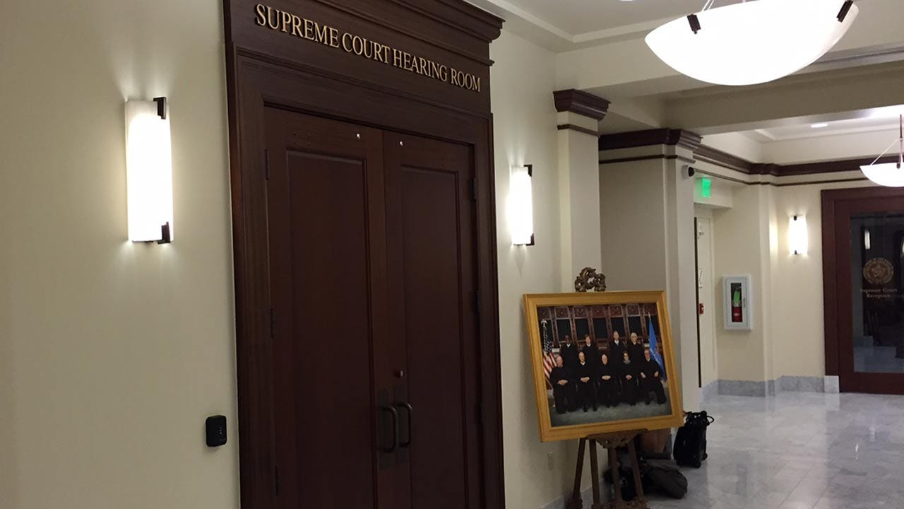 Attorney For Tulsa Sheriff Protests Grand Jury Investigation At State Supreme Court