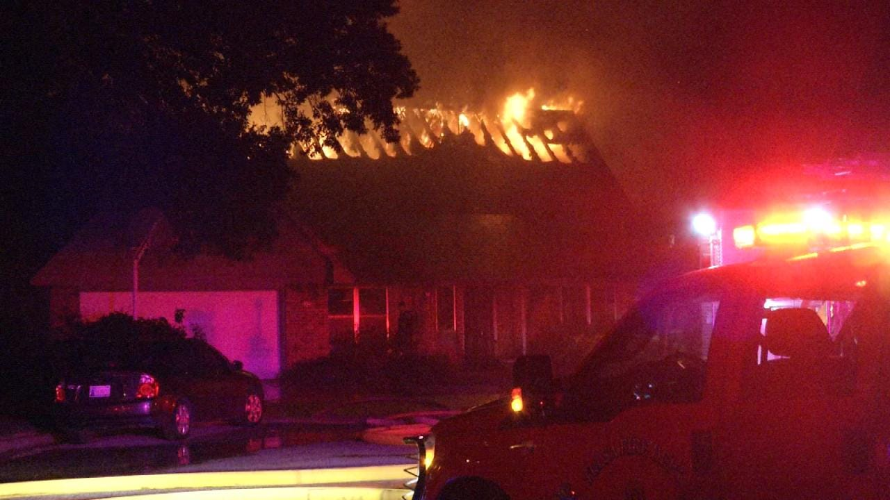 South Tulsa Home Damaged By Overnight Fire