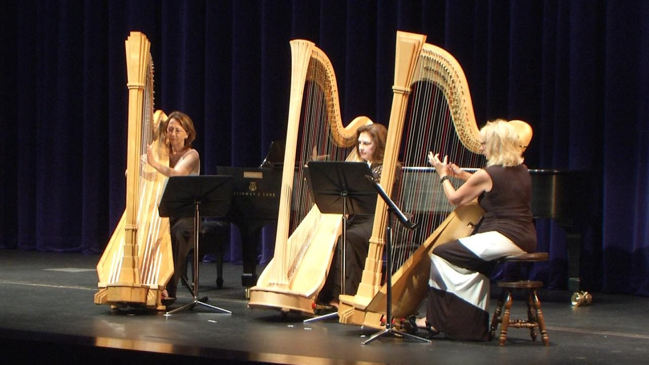 TU Hosts Midwest Harp Festival