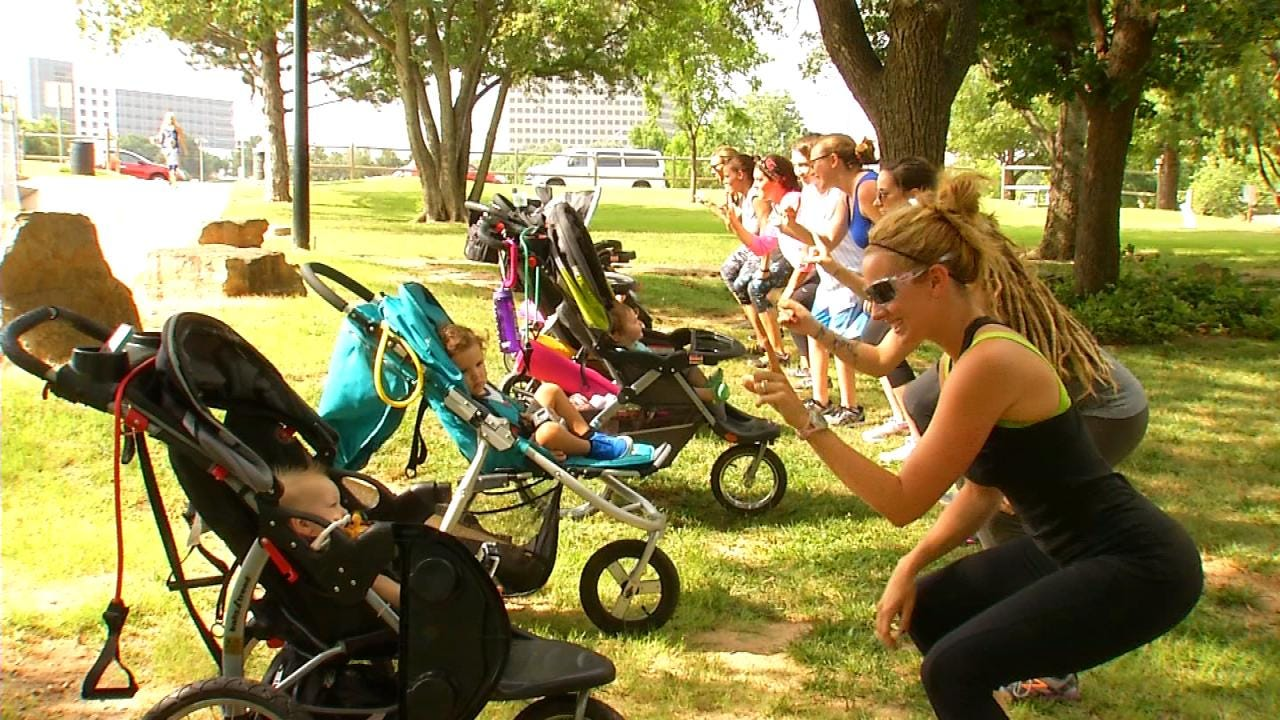 Tulsa Mother Encourages Other New Moms To Stay Fit