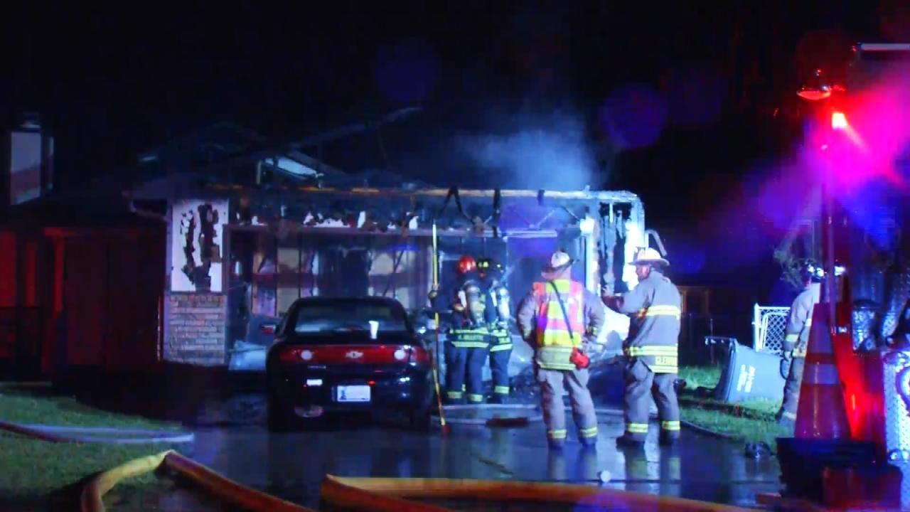 Glenpool Family Safe After Fire Damages Home
