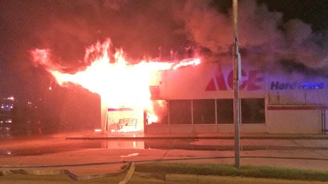 Investigators Try To Determine Cause Of Cleveland Ace Hardware Fire