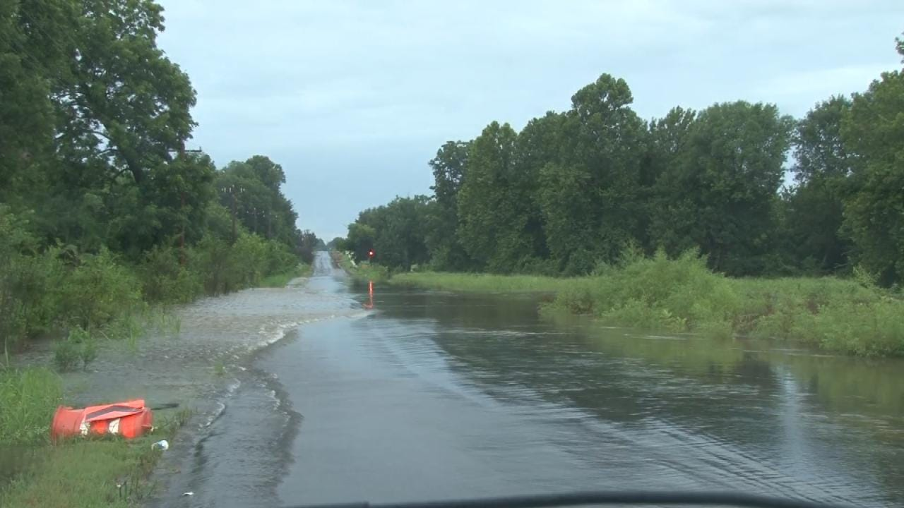 More Flooding In South Muskogee