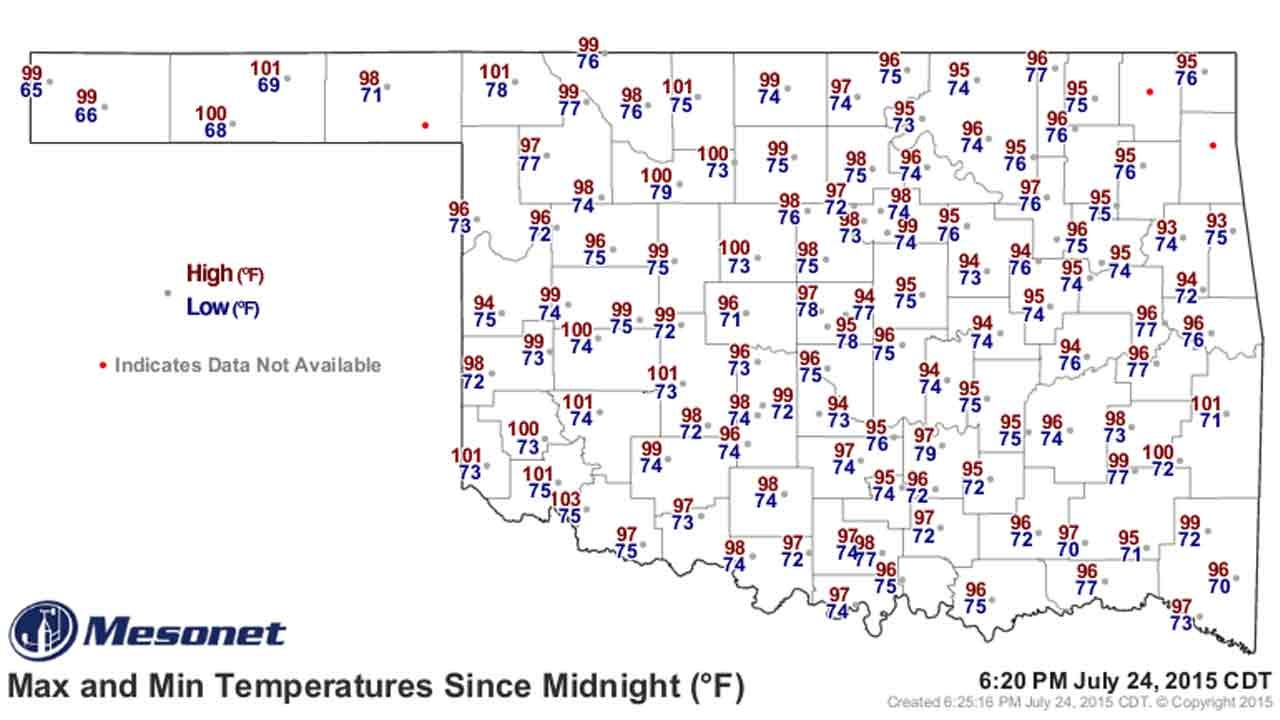 Dick Faurot's Weather Blog: Heat Advisories Through the Weekend