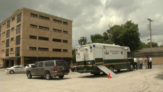 Tulsa Bomb Squad Confirms: No Explosives At Midtown Business