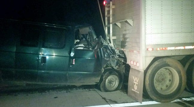 OHP: Inattentive Driver Rear Ends Semi In Rogers County
