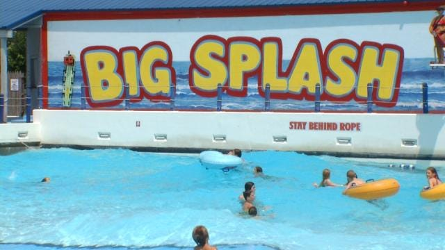 17-Year-Old Rescued From Big Splash Pool By Lifeguard