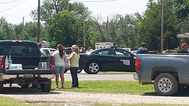 Family, Friends Protest Death Of Nowata Man Killed By OHP Trooper