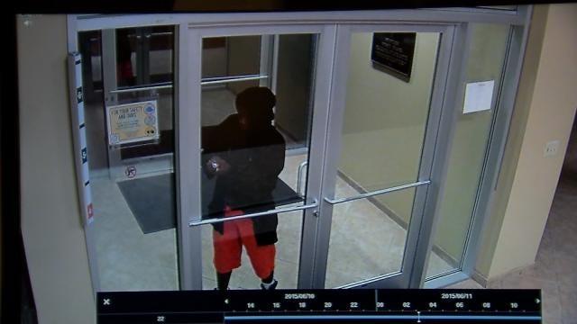 Police: TU Armed Robbery Suspect Broke Into Bank Days Earlier