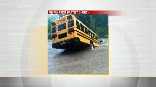 Rising Water Forces Oklahoma Kids To Higher Ground At Falls Creek