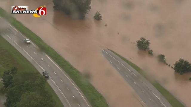 Tropical Depression Bill Causes Destruction Across Oklahoma
