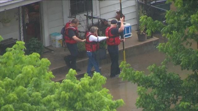 Tropical Depression Bill Blamed For Two Oklahoma Deaths, Flooding