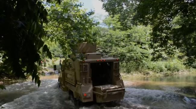 Cherokee Marshals Use Surplus Military Truck To Rescue Tribesman