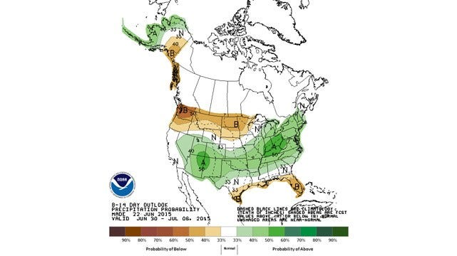 Dick Faurot's Weather Blog: : Hot, Humid; But Relief Is On The Way