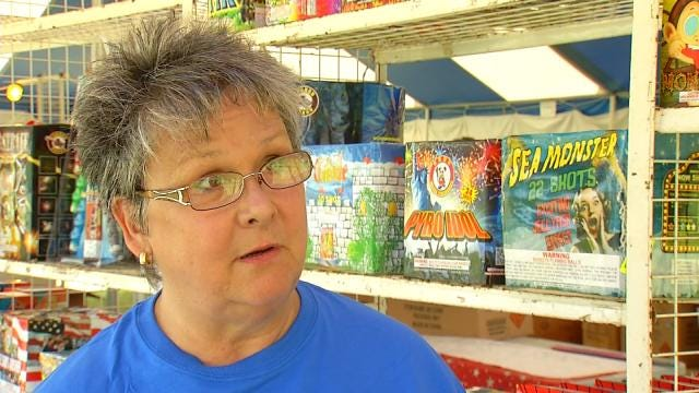 Fireworks Stands Open Up Outside Tulsa City Limits