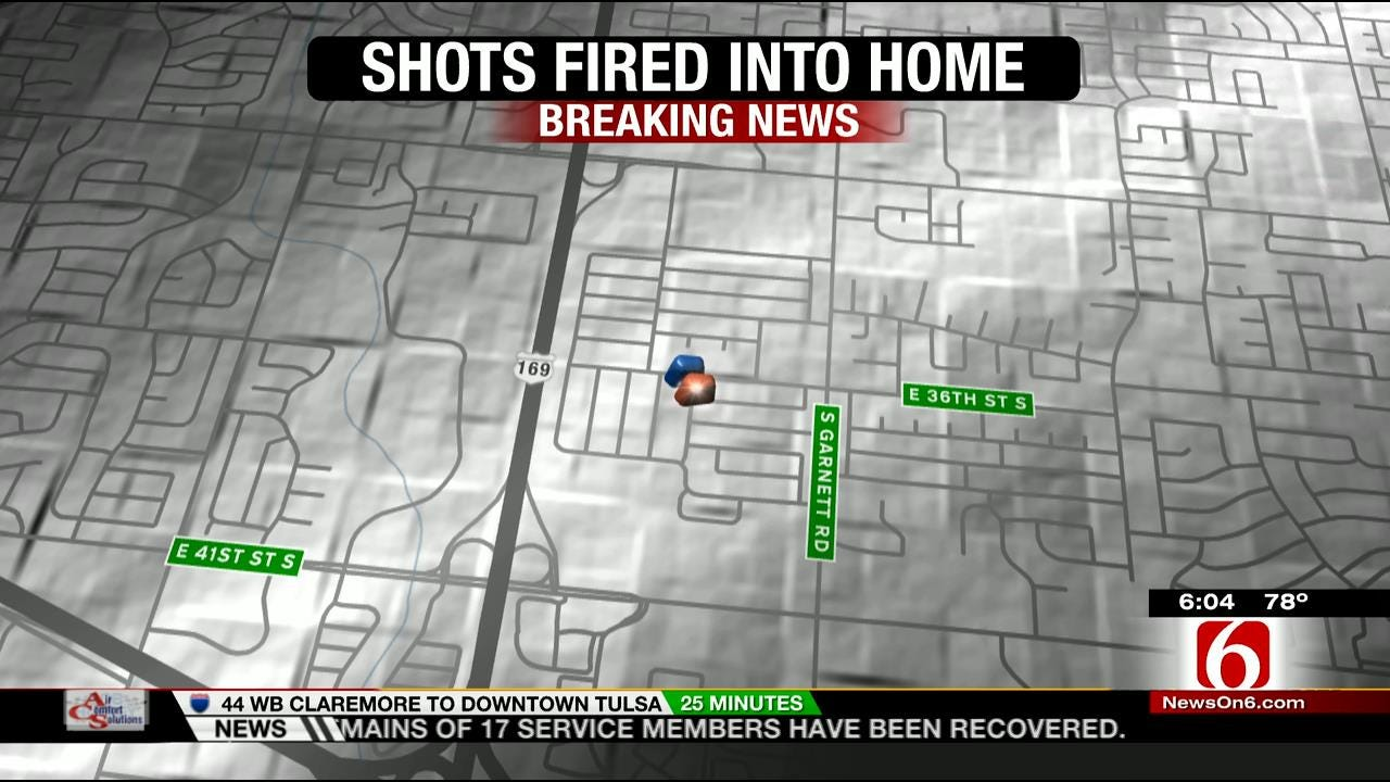At Least 4 Tulsa Homes Hit By Gunfire Overnight