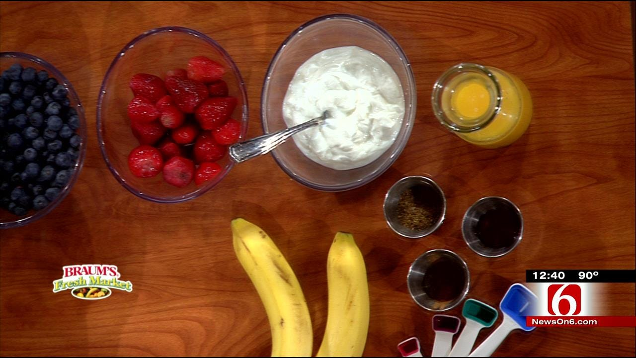Independence Day Wake-Up Smoothie