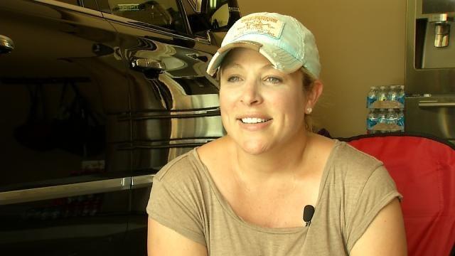 Tulsa Burglary Victims Hope Someone Recognizes Suspect