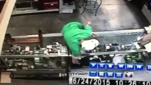 Tulsa Pawn Shop Releases Video Of Suspected Gun Thief