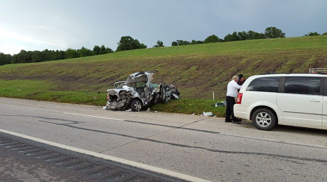 One Killed In Muskogee County Crash