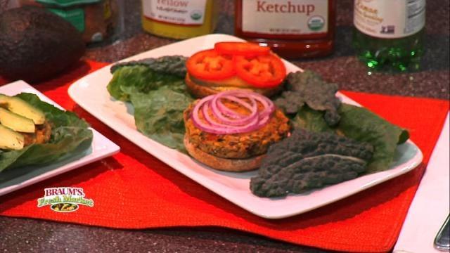 Mediterranean Veggie Burgers