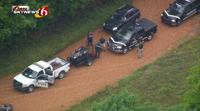 Dogs Used In Search For Men Missing Since Rocklahoma