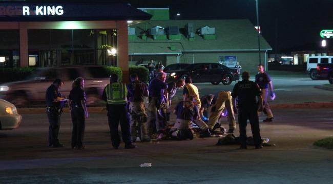 Tulsa Police: Running Man Badly Injured Crossing 21st Street