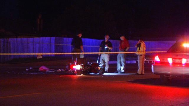 Motorcycle Rider Killed In Tulsa Hit-And-Run
