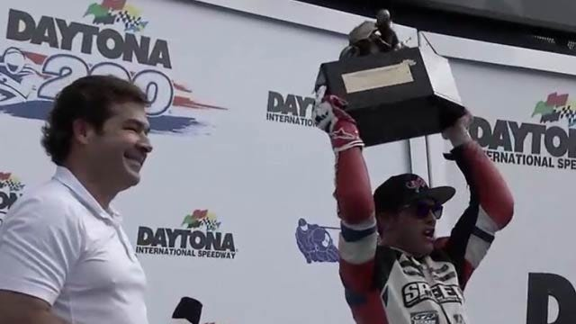 Tulsa Native Wins Daytona 200 For Second Consecutive Year