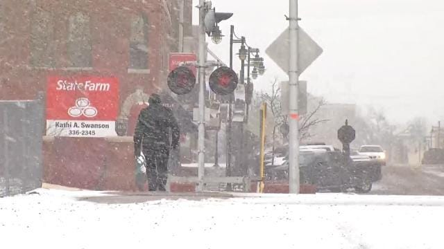 Green Country Braces As Winter Weather Blows In