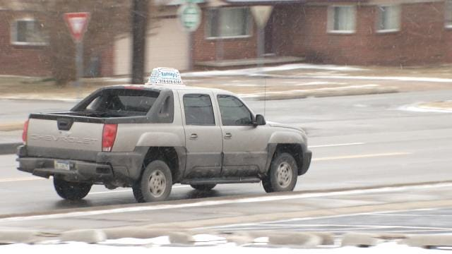 Tulsa Food Delivery Service Sees Orders Skyrocket With Snow