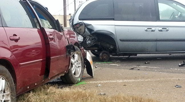 Driver Dead In Collision With Disabled Vehicle In Sand Springs