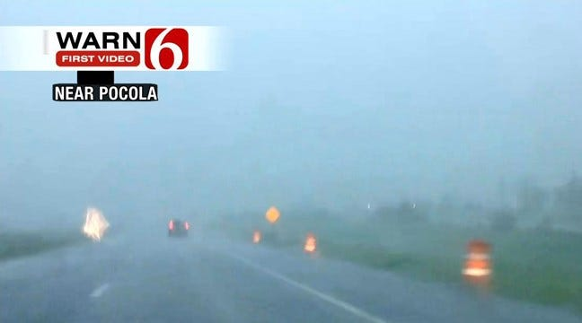 Latimer County Takes Hit From Storm; Flooding Continues In Eastern Oklahoma