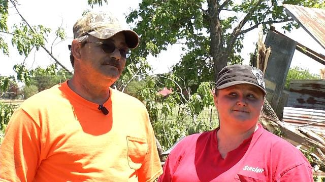 Family Rides Out Red Oak Tornado Thanks To Storm Shelter