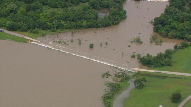 Weekend Rains Overflow Eastern Oklahoma Lakes, Rivers