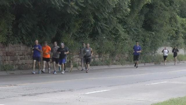Runners Carry 'Flame Of Hope' To Oklahoma's Special Olympics Games