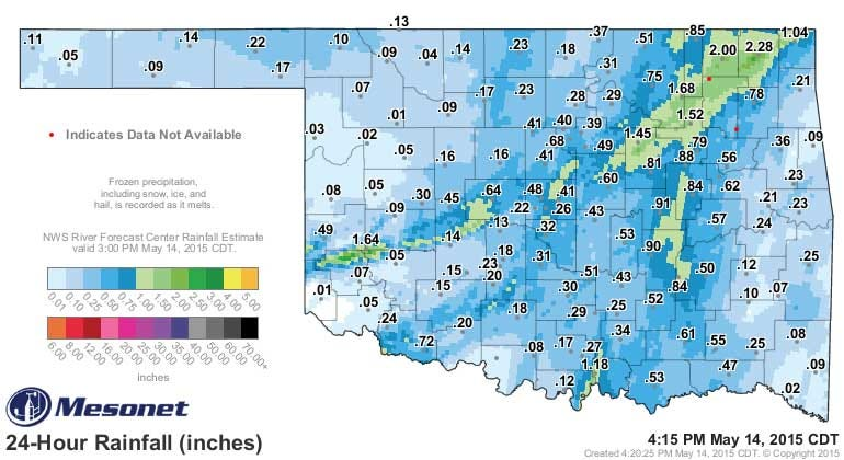 Dick Faurot's Weather Blog: Could Get Interesting Next Few Days