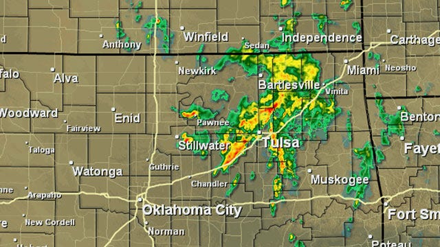 Showers Ending By Noon, But More Rain For Oklahoma This Weekend