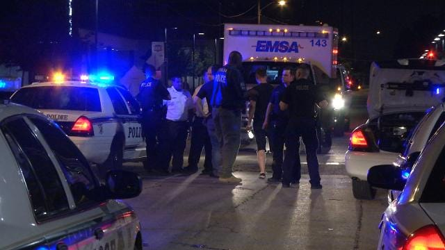 Tulsa Police Capture Armed Robber Downtown